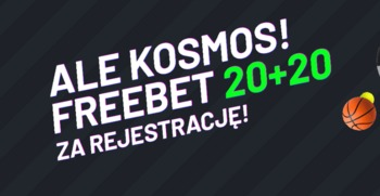 Freebet 20 + 20 w Totalbet